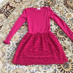 Hot pink beautiful red Valentino dress